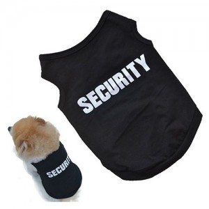 CAMISETA SIN MANGAS SECURITY