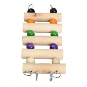 Escalera de madera para mascotas
