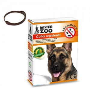 COLLAR REPELENTE NATURAL MISTER ZOO