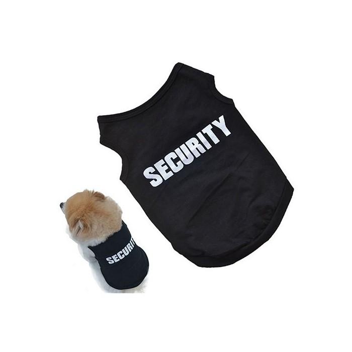 CAMISETA SIN MANGAS SECURITY