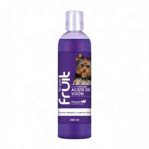 CHAMPU PARA YORKSHIRE ACEITE DE VISON FRUIT FOR PETS 250 ML