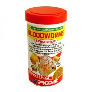 LARVAS ROJAS CHIRONOMUS BLOODWORMS PRODAC 100ML