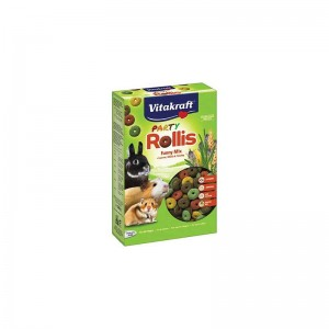SNACK NATURAL PARA ROEDORES PARTY ROLLIS VITAKRAFT 500GR